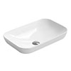 Hudson Reed Rectangular 515 x 340mm Countertop Vessel Basin - NBV181 profile small image view 1