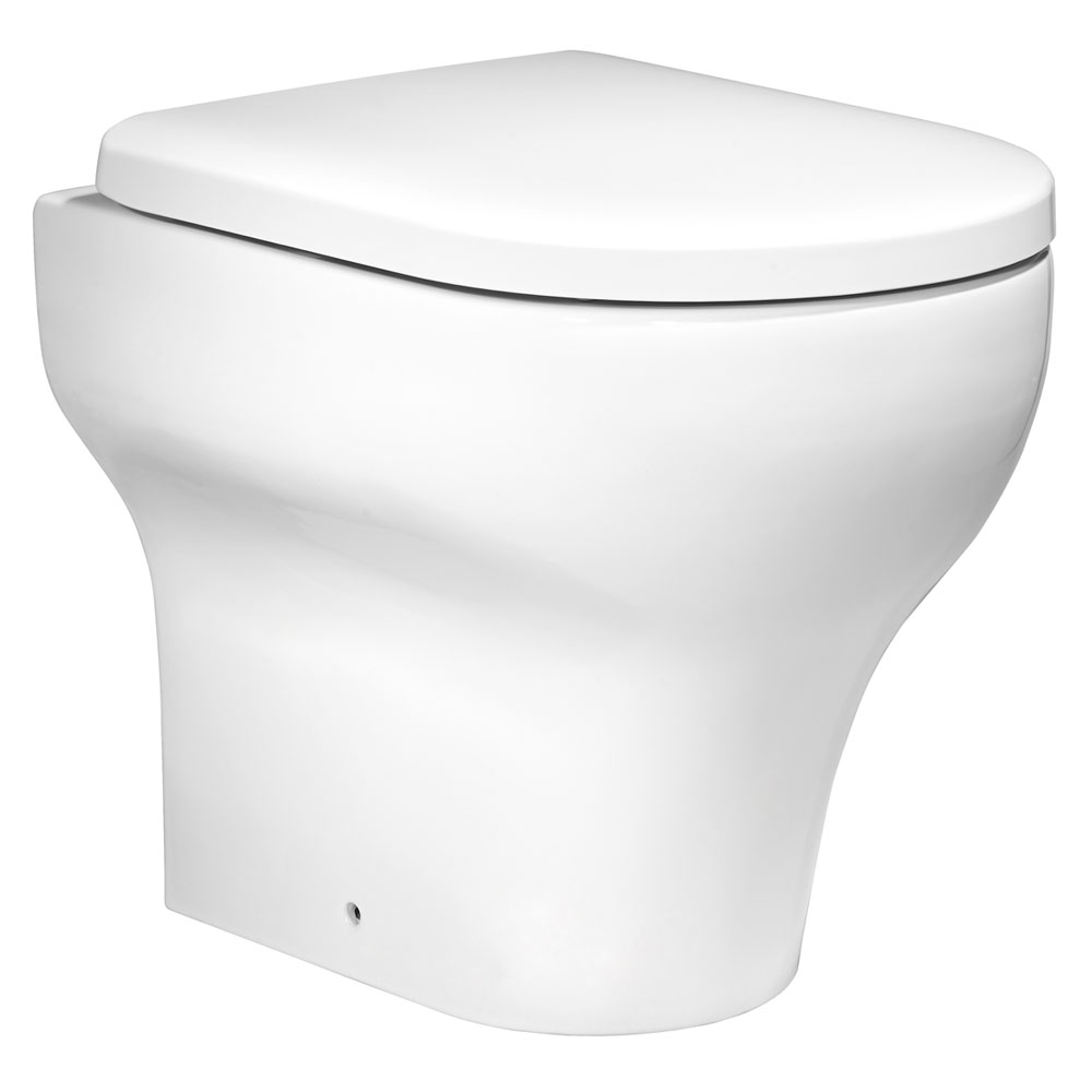 Roper Rhodes Note Back to Wall WC Pan & Soft Close Seat Large Image