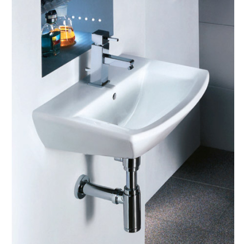 Premier Asselby Wall Hung Cloakroom Basin (500 x 375mm) - NCA204 Profile Large Image