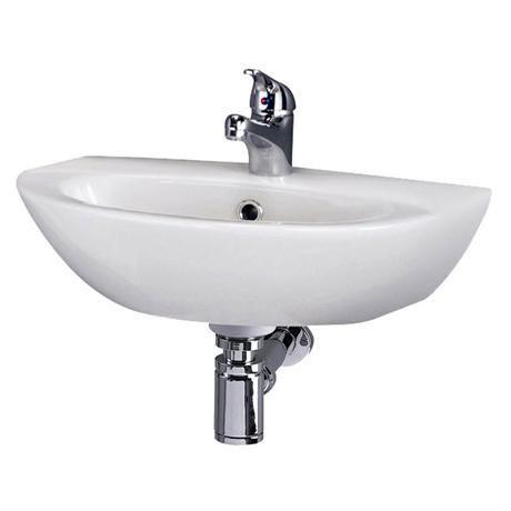 Premier - Knedlington 500 Cloakroom Basin - 1 Tap Hole - NCA304