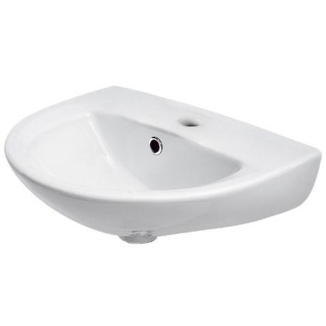 Premier - Pandora 450mm Wall Hung Basin - 1 or 2 Tap Hole Options