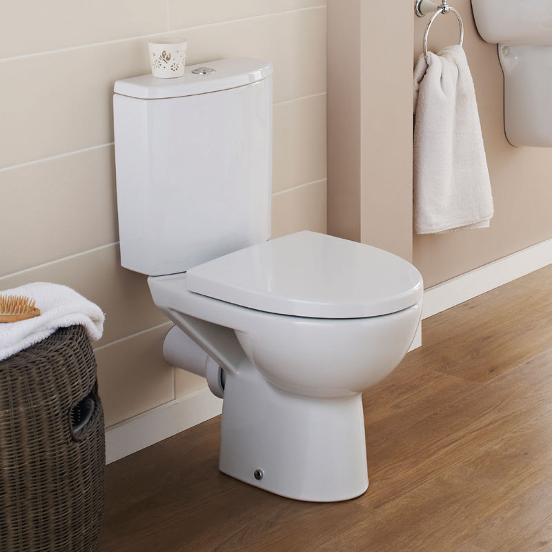 Premier - Pandora Short Projection Pan & Cistern with Soft Close Seat Profile Large Image