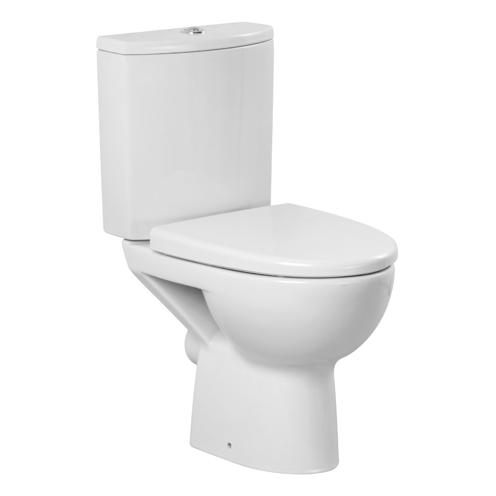 Premier - Pandora Short Projection Pan & Cistern with Soft Close Seat Large Image