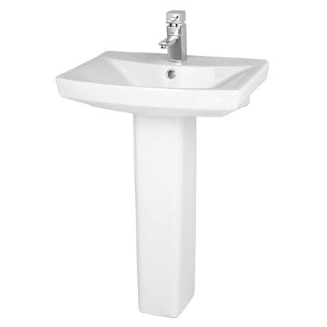 Premier - Hamilton 1TH Basin with Pedestal - 3 x Size Options