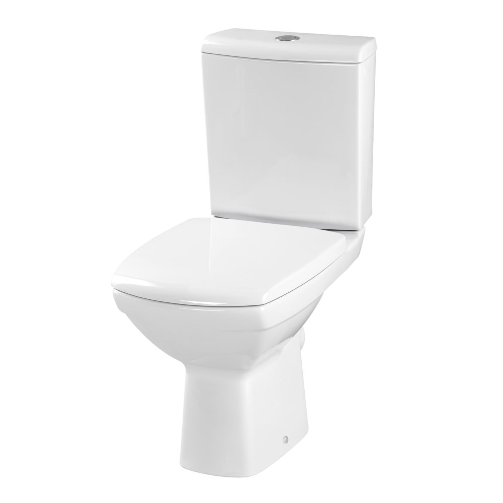 Premier - Hamilton Close Coupled Pan & Cistern with Soft Close Seat Large Image