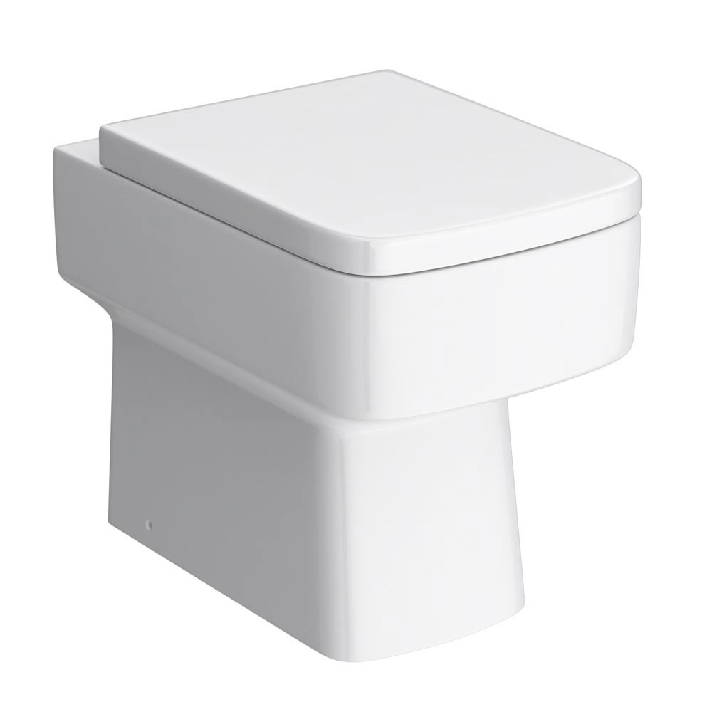 Nuie Bliss Back to Wall Pan (excluding Seat)