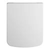 Nuie Square Soft Close Top Fixing Toilet Seat - NCH196 profile small image view 1
