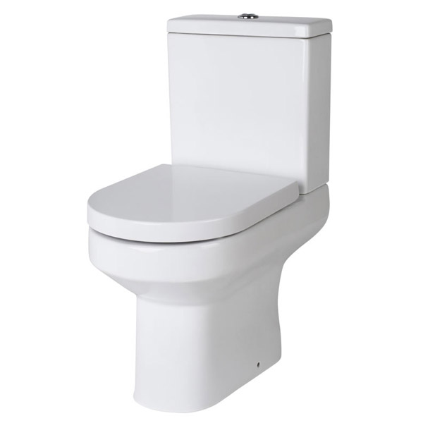 Harmony Close Coupled Toilet with Soft-Close Seat Large Image