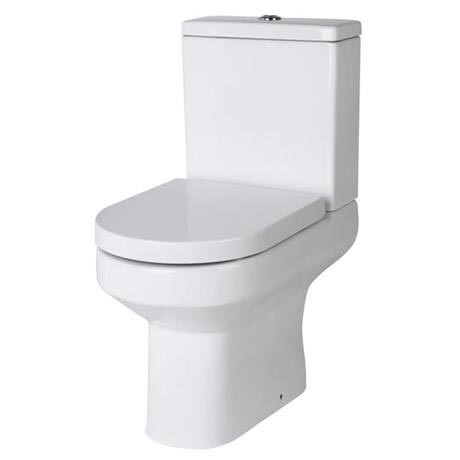 Harmony Close Coupled Toilet with Soft-Close Seat