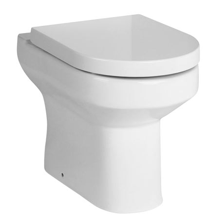Premier Harmony Back to Wall Toilet + Soft Close Seat