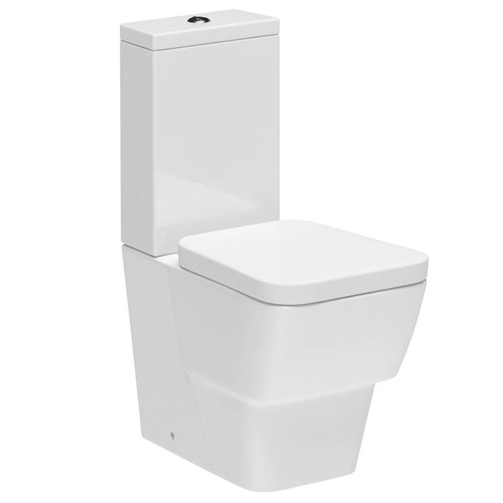 Premier - Cambria Flush To Wall Pan & Cistern with Soft Close Seat Large Image