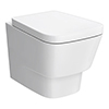 Nuie Cambria Wall Hung Toilet with Soft Close Seat - NCR340 profile small image view 1