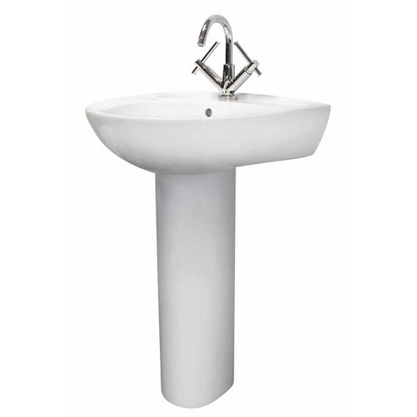 Premier - Perth 550 Basin 1TH with Pedestal - NCS102-NCS103 Large Image