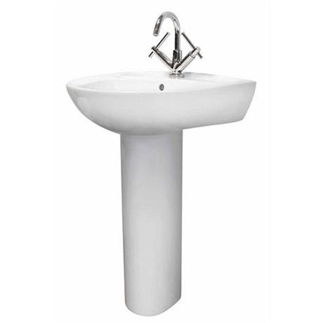 Premier - Perth 550 Basin 1TH with Pedestal - NCS102-NCS103