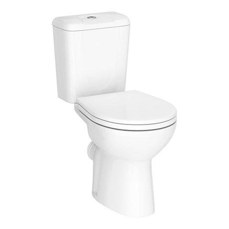 Melbourne Ceramic Close Coupled Modern Toilet