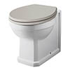 Carlton Traditional Back To Wall Pan (Excluding Seat) - NCS806 profile small image view 1