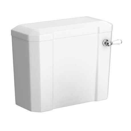 Keswick Cistern + Ceramic Lever