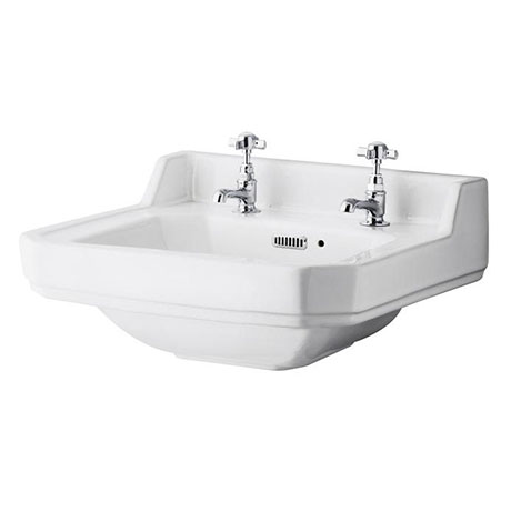 Carlton/Richmond 560mm Medium 2 Tap Hole Basin - NCS884