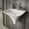 Hudson Reed Grace Wall Hung Basin - NCT102 profile small image view 1