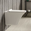 Hudson Reed Grace Rimless Wall Hung Pan & Soft Close Seat - NCT140 profile small image view 1