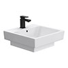 Novus 510 x 515mm Square Ceramic Counter Top Basin - 1 Tap Hole profile small image view 1