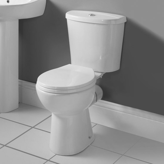 Premier Brisbane Close Coupled Pan with Cistern + Soft-Close Seat Profile Large Image