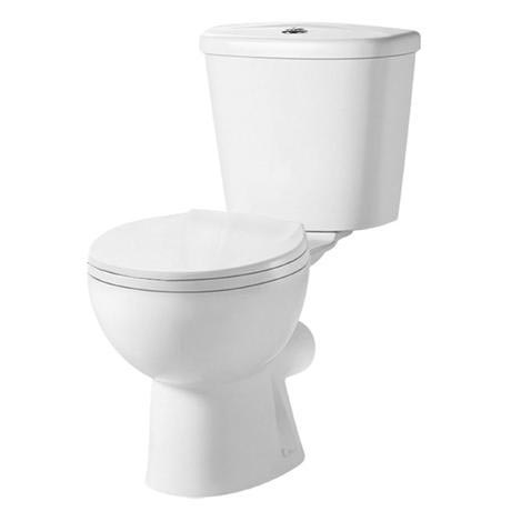Premier Brisbane Close Coupled Pan with Cistern + Soft-Close Seat