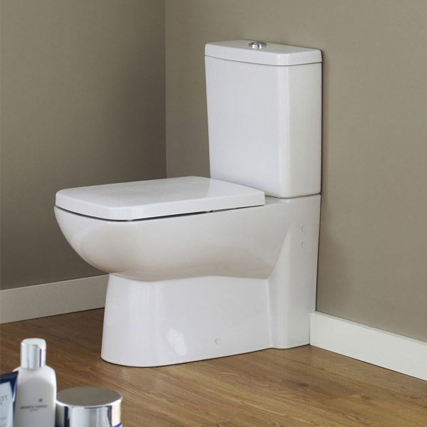 Premier - Ambrose BTW Close Coupled Pan & Cistern with Soft-Close Seat Profile Large Image
