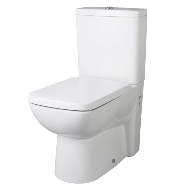 Premier - Ambrose BTW Close Coupled Pan & Cistern with Soft-Close Seat Large Image