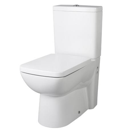 Premier - Ambrose BTW Close Coupled Pan & Cistern with Soft-Close Seat