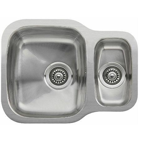 Reginox Nebraska 1.5 Bowl Stainless Steel Undermount Kitchen Sink