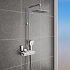 Neo Modern Thermostatic Shower with Shelf profile small image view 1