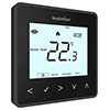 Heatmiser neoAir v2 Wireless Smart Thermostat - Sapphire Black profile small image view 1