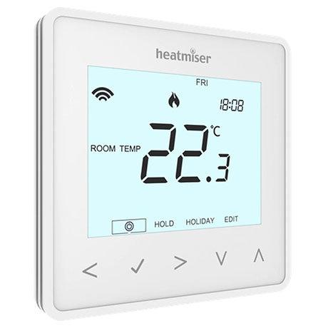 Heatmiser neoAir v2 Wireless Smart Thermostat - Glacier White