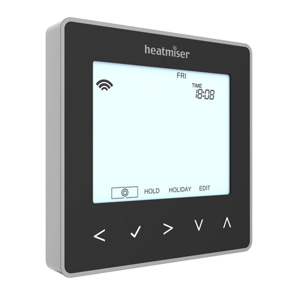 Heatmiser neoStat-hw V2 - Hot Water Programmer - Sapphire Black