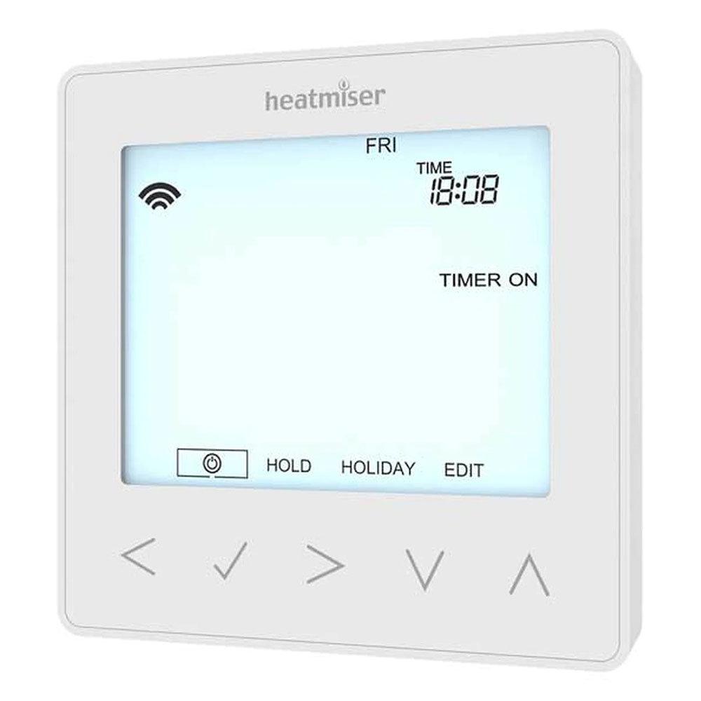 Heatmiser neoStat-hw V2 - Hot Water Programmer - Glacier White