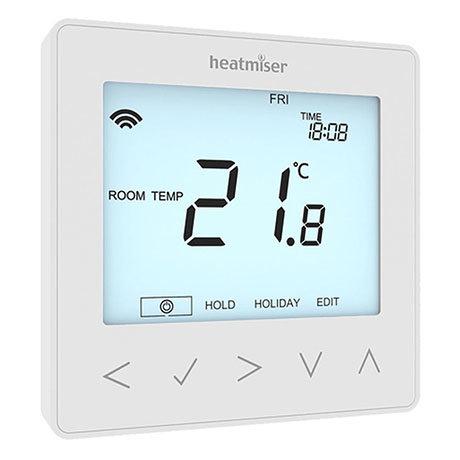 Heatmiser neoStat V2 - Programmable Thermostat - Glacier White
