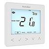 Heatmiser neoStat 12v V2 - Programmable Thermostat - Glacier White profile small image view 1