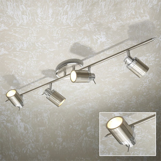 Hib Nero Ceiling Spotlights 6115 At Victorian Plumbing Uk
