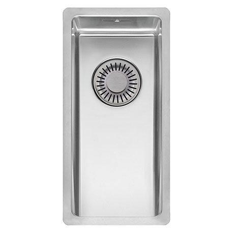 Reginox New York 18x40 1.0 Bowl Stainless Steel Integrated Kitchen Sink