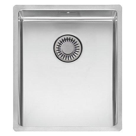 Reginox New York 34x40 1.0 Bowl Stainless Steel Integrated Kitchen Sink