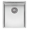 Reginox New York 34x40 1.0 Bowl Stainless Steel Integrated Kitchen Sink profile small image view 1