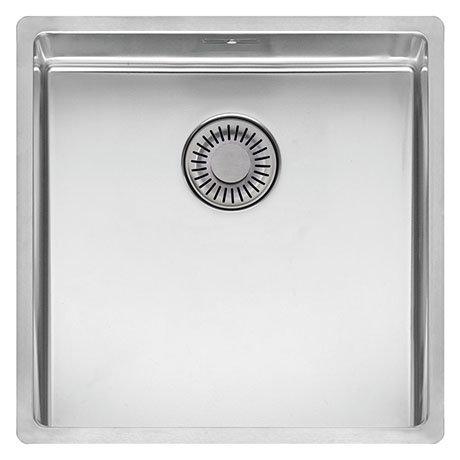 Reginox New York 40x40 1.0 Bowl Stainless Steel Integrated Kitchen Sink