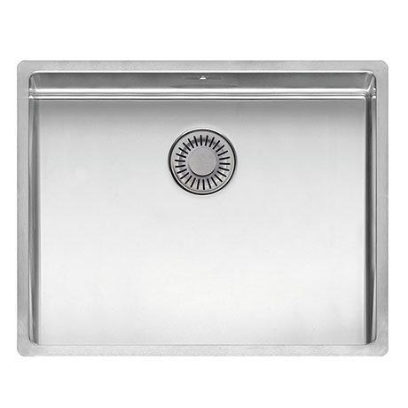 Reginox New York 50x40 1.0 Bowl Stainless Steel Integrated Kitchen Sink