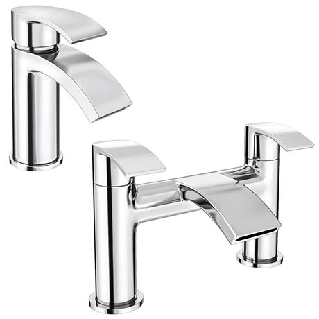 Nexus Modern Tap Package (Bath + Basin Tap)