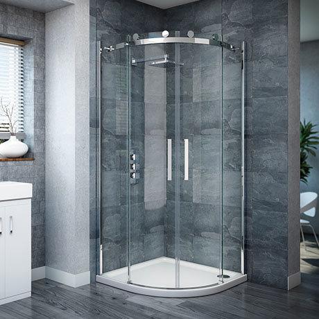 Nova Frameless Quadrant Shower Enclosure