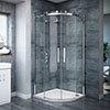 Nova Frameless Quadrant Shower Enclosure Small Image
