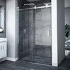Nova Frameless Sliding Shower Door Medium Image