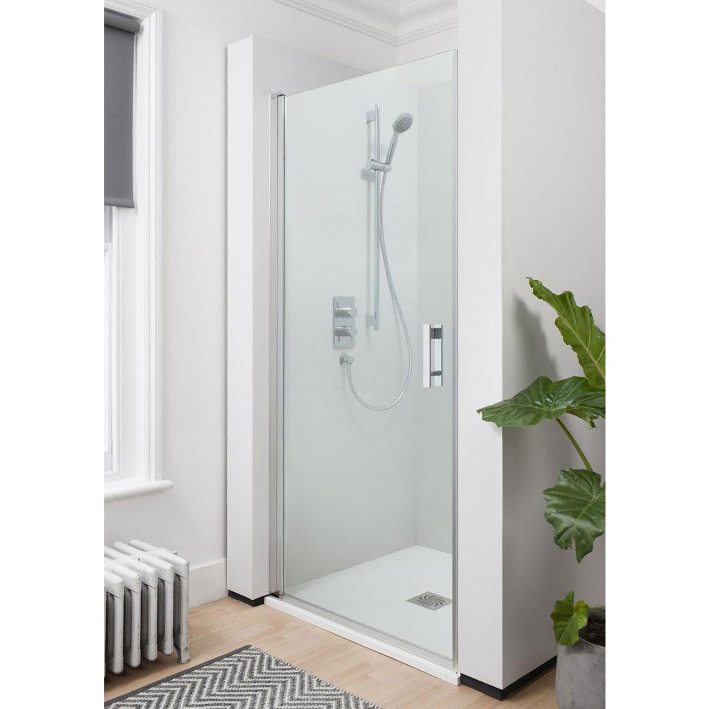 Crosswater - Click Hinged Shower Door - 2 Size Options