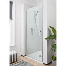 Simpsons - Click Hinged Shower Door - 2 Size Options Medium Image